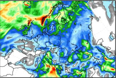 European Weather chart