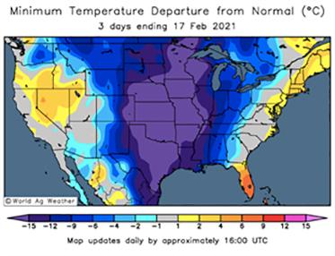 US weather chart
