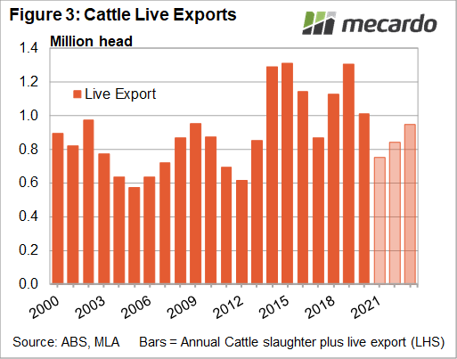 Cattle live exports