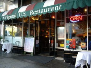 Restaurant in the USA