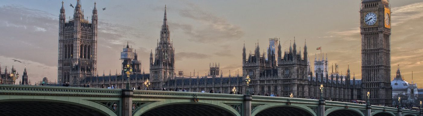 Image of London with Big Ben